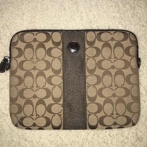 Coach Pouch and Tablets Case